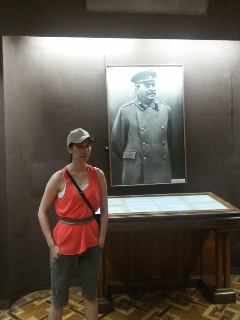 "Gori. ""Stalin si poporul rus….."". Orasul sapat in piatra ""Uplistsickhe""."