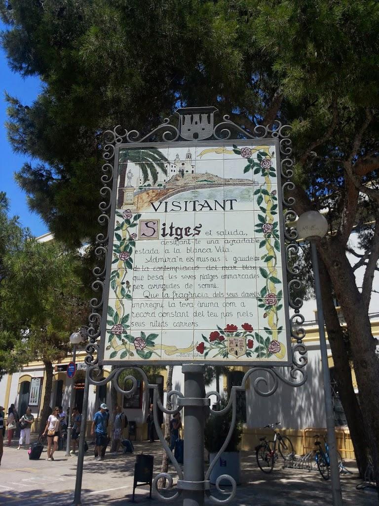 Catalunia is not Barcelona: Sitges, un fel de Saint Tropez mititel. Bonus: Garraf si Restaurantul lui Gaudi