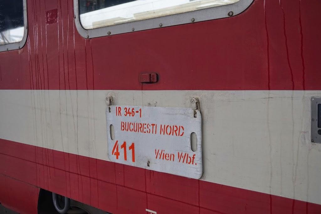La Vienna cu Trenul Dacia