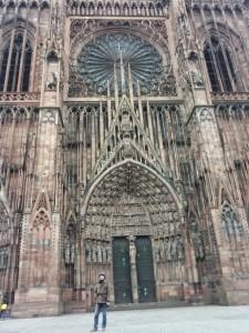 fatada catedrala strasbourg