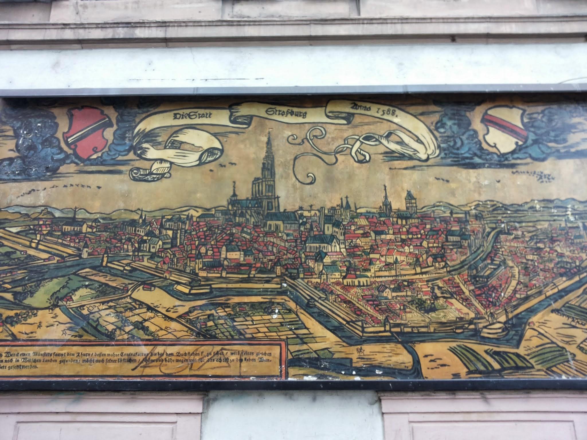 harta medievala strasbourg