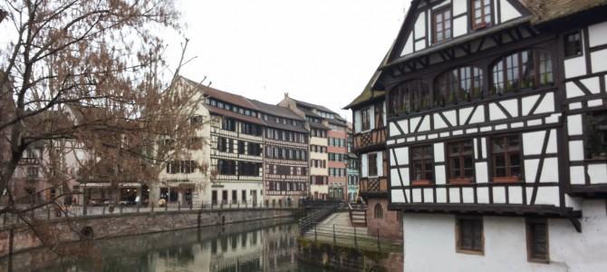 O zi la Strasbourg in Alsacia