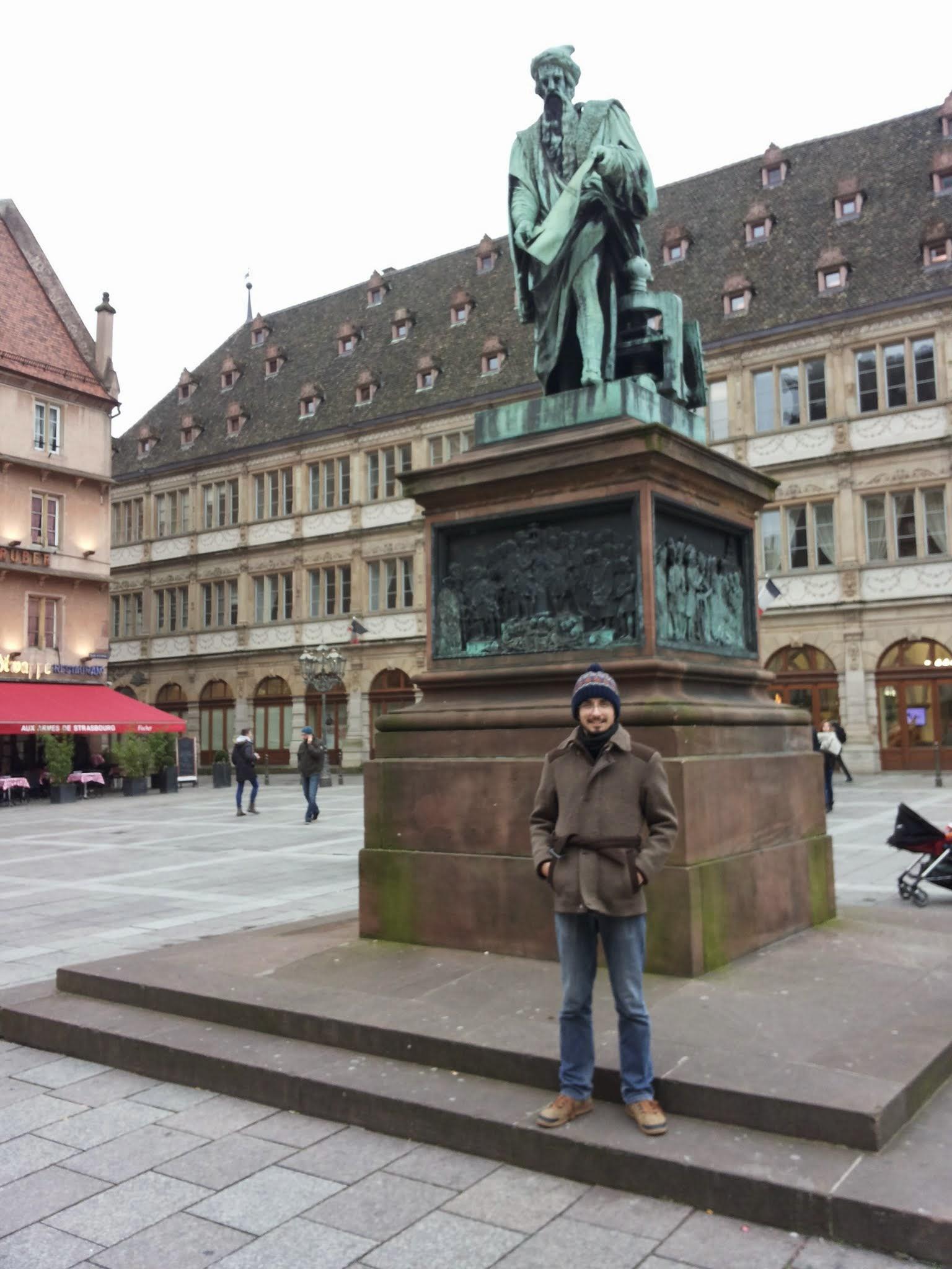 statuia Gutenberg