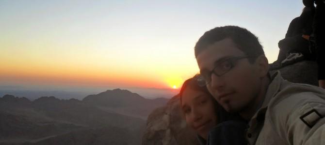 Urcarea pe Muntele Sinai si Rasaritul