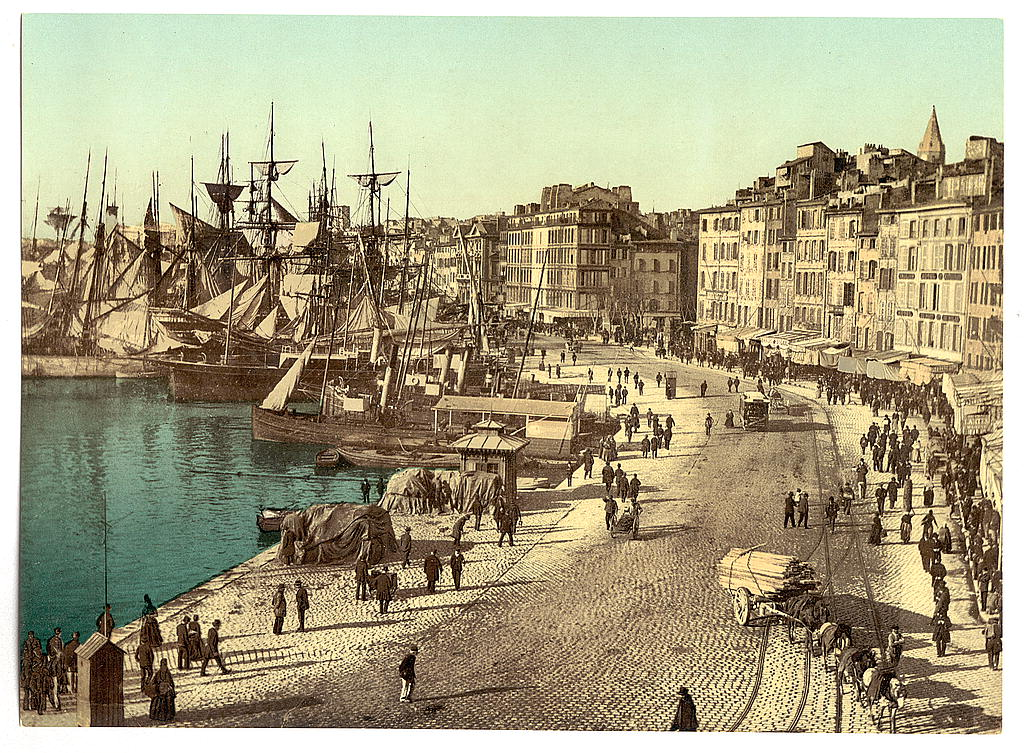 The_Library_of_Congress_-_(Old_Harbor_(Vieux-Port),_Marseille,_France)_(LOC)