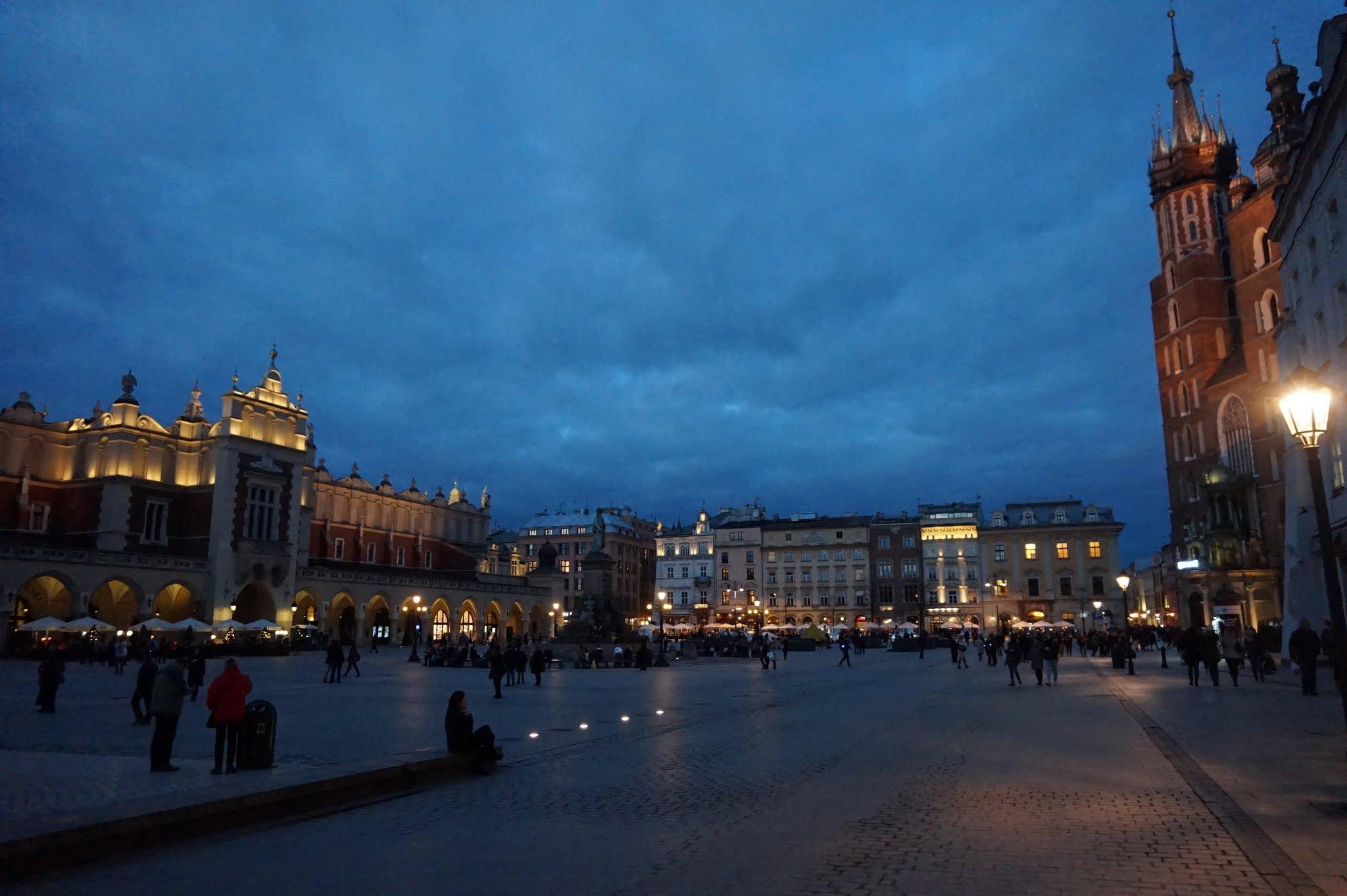 Piata Mare din Cracovia