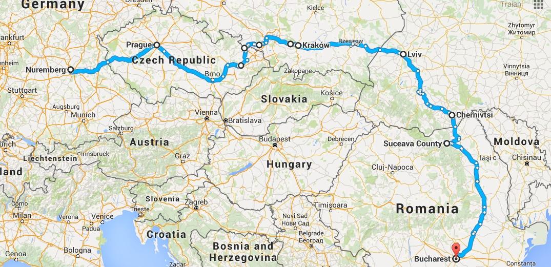 12 Zile Prin Europa Centrala Si De Est Nurnberg Praga Cracovia