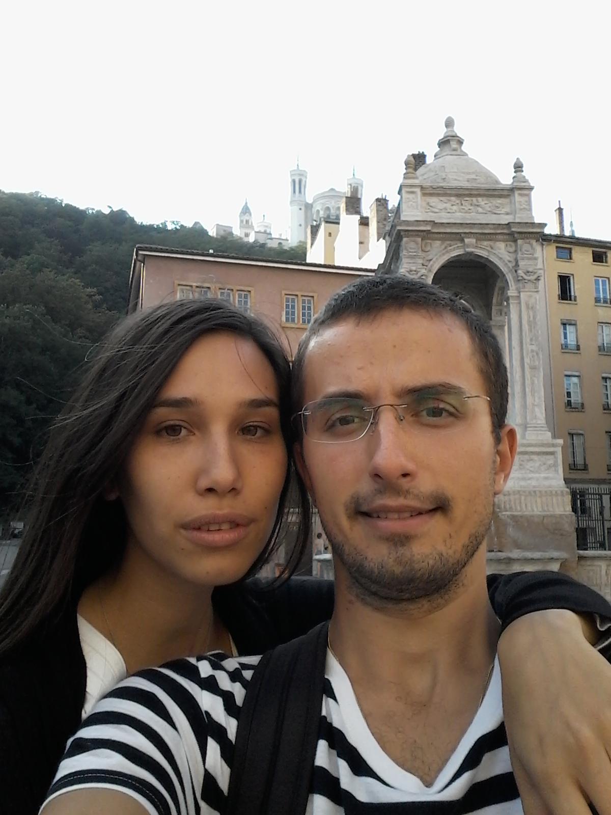 Primul Selfie in Lyon