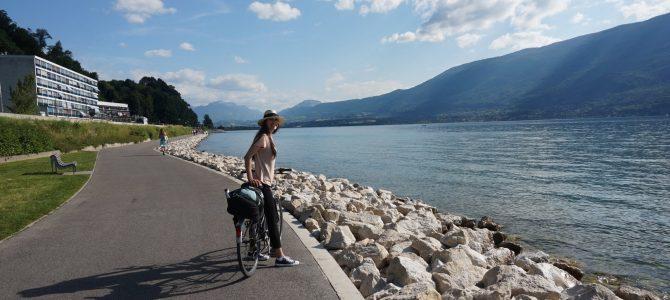 Un tur prin Savoia pe bicicleta -Lacul Bourget si Chambery