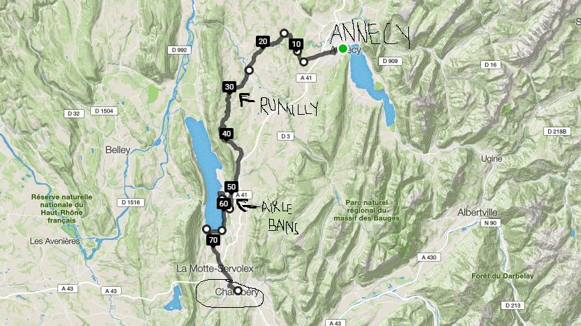In total am facut cam 50 kilometrii, daca ii scadem pe cei facuti cu trenul…
