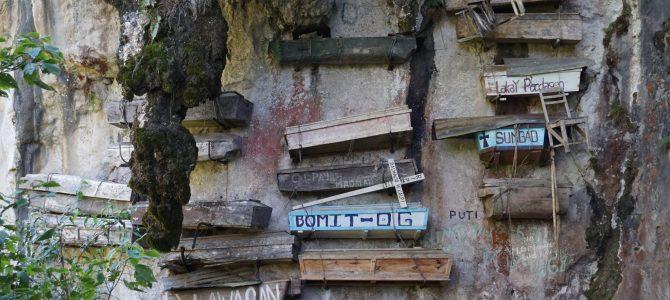 Sagada și sicriele suspendate din munții Cordilierei Filipineze