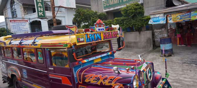 Baguio si drumul inapoi spre Manila