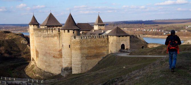 Cetatea Hotin la hotarul de pe Nistru.