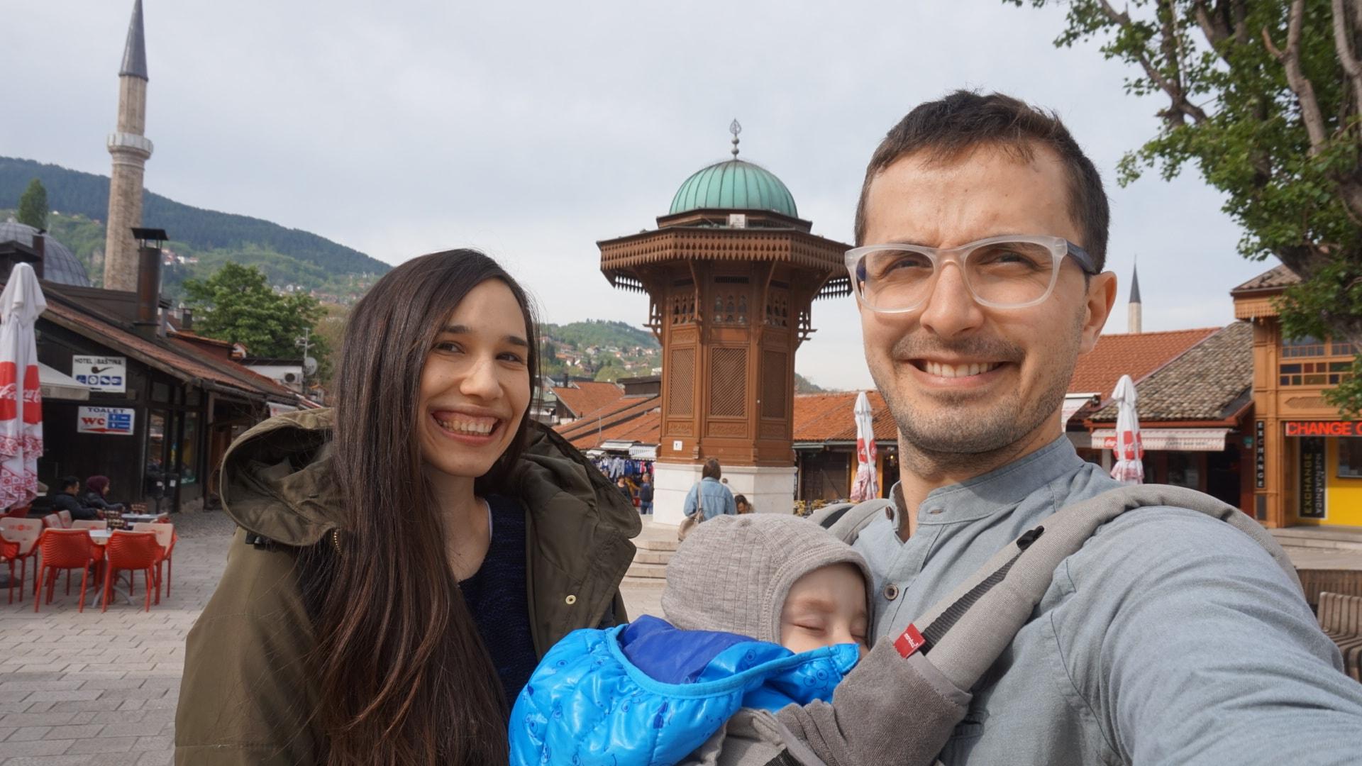 Călătoriile cu Bebe T. și sistemul de purtare Manduca XT. Combinația perfectă.