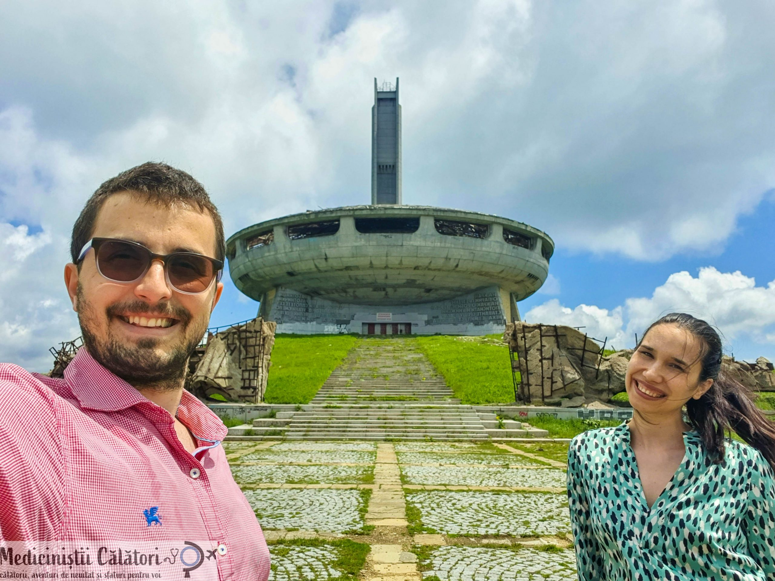 Bulgaria – Pasul Shipka, Monumentul Libertatii si o dovada a arhitecturii brutalist-sovietice, Buzludzha.
